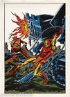 Vintage 1978 IRON MAN vs SUNFIRE Pin up Poster Marvel