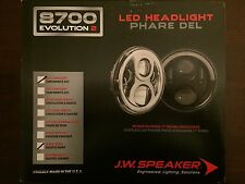 "J.W. Speaker 0549701 Black Evolution 2 8700 LED 7"" Headlight - Sold as a Pair"
