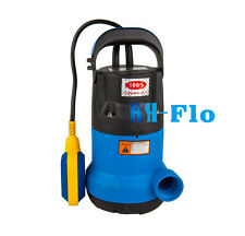 Submersible Sump Pump - Vortex: Dirty Water, Grey Water, Sewerage / Sewage