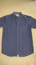 BLUE BOYS SHIRT FROM JD SPORTS SIZE SMALL