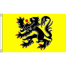 Flanders Lion Flag 5Ft X 3Ft Belgium Belgian Banner With 2 Eyelets New