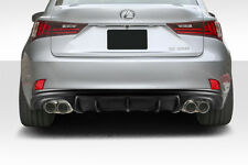 2014-2015 Lexus IS Series IS350 IS250 AM Design Style Rear Diffuser 112769