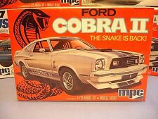 MPC 1976 FORD MUSTANG COBRA II ANNUAL 1-0773 AMT 76 1/25 MINT FACTORY SEALED KIT