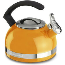KitchenAid 2.0-Quart Kettle with C Handle and Trim Band in Mandarin Orange