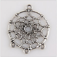 15 Dreamcatcher Tibetan Silver Charms Pendants Jewelry Making Findings