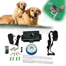 Safe Waterproof Underground Electric Dog Pet Fence Fencing Shock Collar System