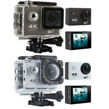 "F60B 4K 2.0"" Ultra HD Wifi Wireless Action Camera Waterproof Sports DV Cam 170°"