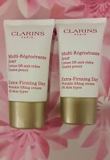 Clarins Extra-Firming Day Rejuvenating Cream 15ml x 2 = 30ml for ALL SKIN TYPE