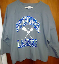 SYLVANIA LACROSSE logo lrg jersey OHIO polyester #20 game-worn Athletic Knit