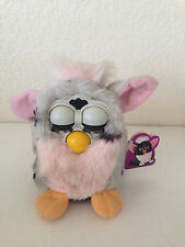 Furby Babies 1998 Tiger Electronics Gray Black Spots Blue Eyes DOES NOT WORK