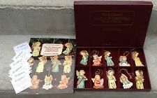 "Danbury ~ Set of 10 ~ Hummel ""Angels of Christmas"" Ornaments  Paperwork free shp"