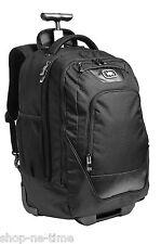 """OGIO Wheelie Pack Wheeled Upright Black 15"""" Laptop / MacBook Pro Backpack - New"""