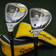 """TaylorMade Rocketballz Stage 2 TOUR TP LEFT HAND Rescue 3h&4h Set """"X"""" Stiff NEW"""