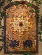 Tuscany Sunflowers Quilt Pattern Pieced GL