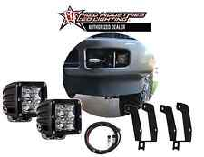 Rigid Ind. D-Series Dually Spot Lights Fog Light Kit For 99-16 Ford Super Duty