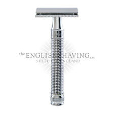 Edwin Jagger 3D Laser Diamond DE Razor [Boxed, NEW] + 5x Feather Blades FREE!