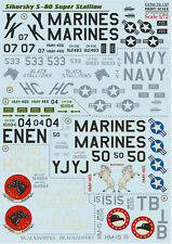 Print Scale - 72-137 - Decal for Sikorsky S-80 Super Stallion - 1:72