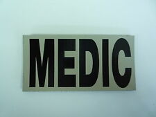 "MEDIC IR PATCH MB ON TAN 4 1/4"" X 2 1/8"" COLL#214 WITH VELCRO® BRAND FASTENER"