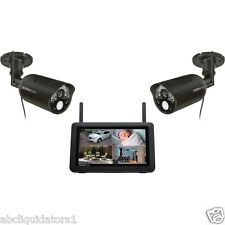 Uniden UDR744HD Outdoor Wireless Cameras w/ 7-Inch High Resolution LCD Screen