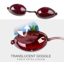 LUNETTES de bronzage pour SOLARIUM normes CE vue intégrale goggles gafas anti UV