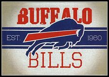 BUY 1 GET 1 FREE ~ BUFFALO BILLS VINTAGE STYLE FOOTBALL NFL LICENSED STICKER