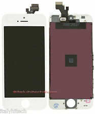 LCD DISPLAY RETINA PER IPHONE 5 A1428 / A1429 BIANCO ORIGINAL TOUCH SCREEN