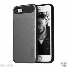 Araree iPhone 7 Slim Dual Layer TPU+PC Grip Case Protective Cover GunMetal(E217)