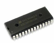 Imported ADC0809 ADC0809CCN NSC DIP 8-Bit uP Compatible A/D Converters NEW AL
