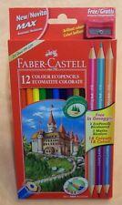 12 COLORI PASTELLI ecomatite colorate  FABER CASTELL   cod.9698