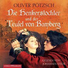 JOHANNES STECK - PÖTZSCH: D.HENKERSTOCHTER U.D.TEUFEL VON BAMBERG 6 CD NEU