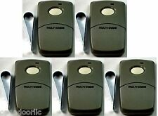 3089 Linear 5-Pack Multi-Code Gate Garage Door Opener 1 Button Remotes MCS308911
