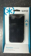 Brand New Speck Black PixelSkin for iPhone 4 4s case skin Silicone(SPK-A0792)