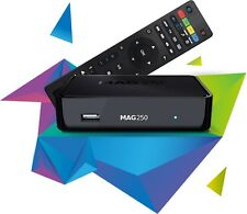 Original Infomir MAG250 IPTV Box Media Streamer Player FULL HD TV 3D Video