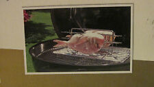 New Gourmet Fish Grill Multi 4 Fish Grill For 4 Or Grilling Rack Made in Germany