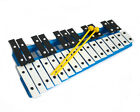 New Professional CHROMATIC GLOCKENSPIEL Xylophone with Beaters & Metal Keys