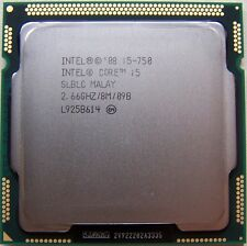 INTEL QUAD CORE I5-750 2.66GHZ 8M PROCESSOR CPU LGA1156