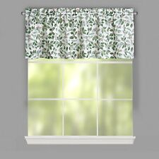 "Lichtenberg Top of the Window Holiday Window Valance, 54x17"" Christmas Holly NEW"