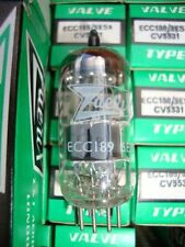 1 X ECC189 ZAERIX . NOS/NIB TUBES, HIGH QUALITY TUBES. CRYOTREATED
