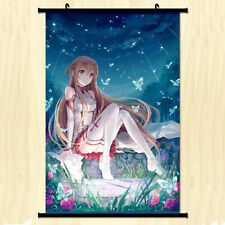 Home Decor Anime Wall Scroll Poster Sword Art online Yuuki Asuna Poster 21*30CM