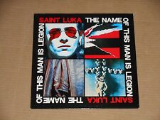 SAINT LUKA the name of this man is legion LP 1989 italy limbo kinetix goth psych