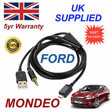 Ford MONDEO Samsung HTC & LG Micro USB & 3.5mm Aux Audio Connectivity Cable