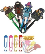 12pcs new arrival Harry Potter Bookmarks Paper Clips Paperclip School Supplies
