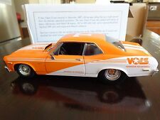 1972 CHEVY NOVA PRO STREET UT TENNESSEE VOLS LTD ED SPEC CAST 1/25