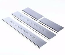 Stainless Steel Door Sill Scuff Plates For Jeep Grand Cherokee 2011 2012 2013