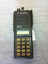 Motorola MTS2000 Mod 3 800Mhz Flashport Police Fire Radio H01UCH6PW1BN no pixels