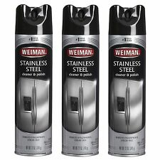 Weiman Stainless Steel Cleaner & Polish 17 oz 3 Pack