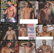 PLAYGIRL SPRING 2015 CHIPPENDALES! 7 LAYOUTS HAIRY HUNKS STUDLY MEN GALORE!