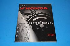 Genuine Honda Service Manual 1995 CR80R Dirt Bike Motorcycle