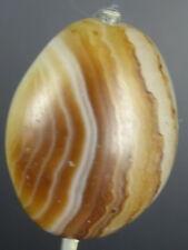 Ancient Suleimani Bhaisajyaguru dZi banded Agate Bead