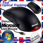 Genuine Microsoft Wheel Mouse Optical USB 1.1A Black/Red